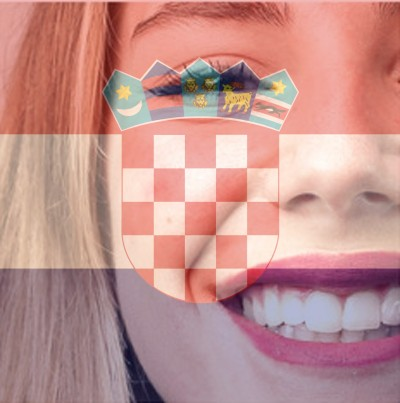 Croatian Flag Overlay