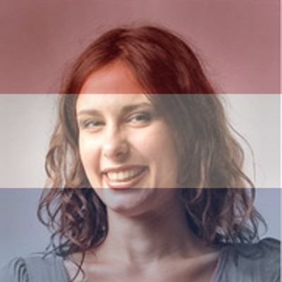 Netherlands Flag Overlay